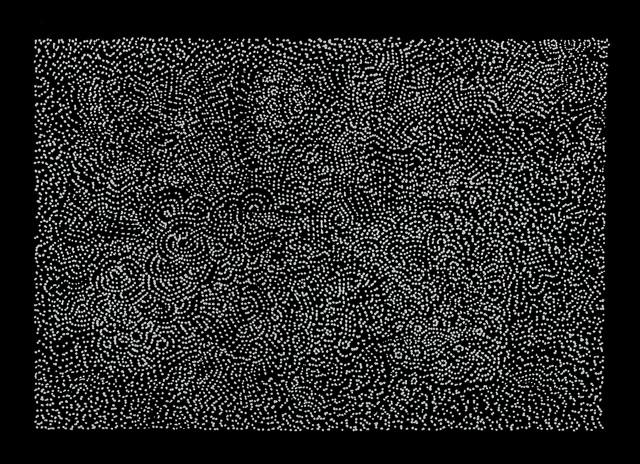 """Mindstream "" by Tullio DeSantis, altered ink drawing, 2011"
